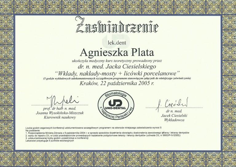 certyfikat-agnieszka-plata